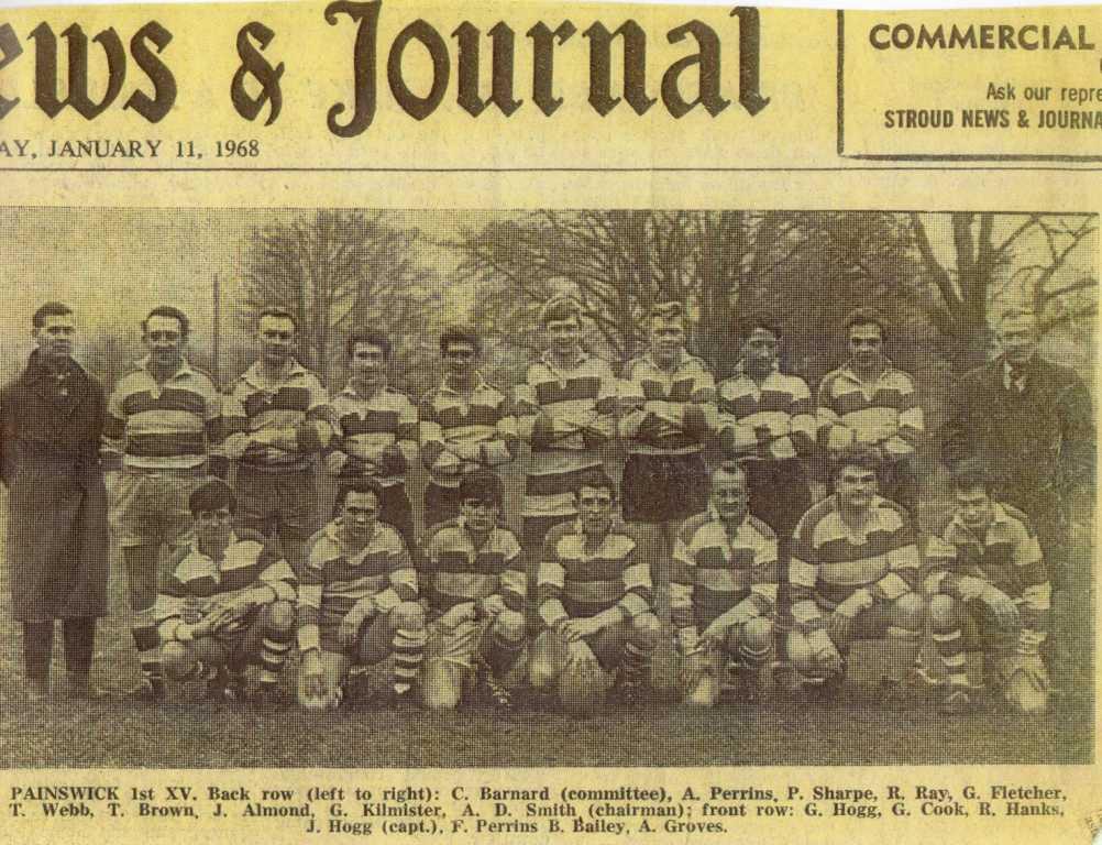 Painswick RFC - 1967-1968