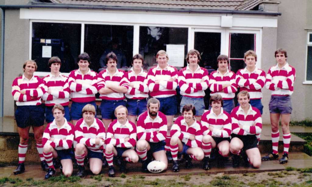 Painswick RFC - 1980 October 19th Official opening of Club House on the Rec