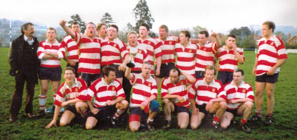 Painswick RFC - 1994-1995 Winners of Stroud Senior Combination Cup
