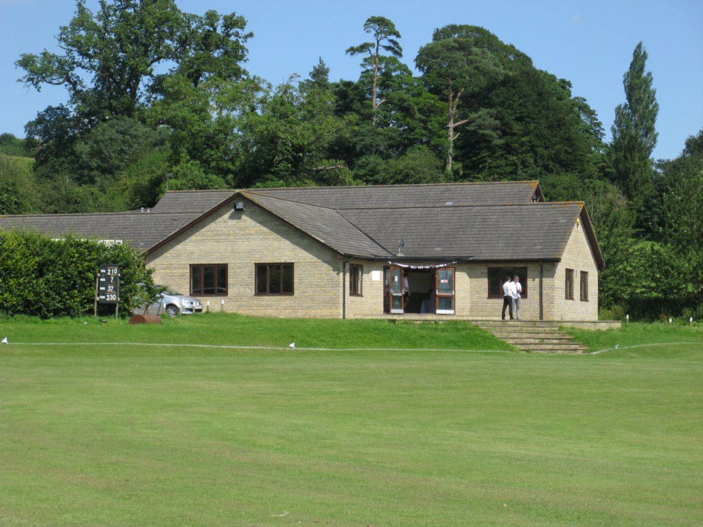 Broadham Fields (02-08) - The Club House (external view)