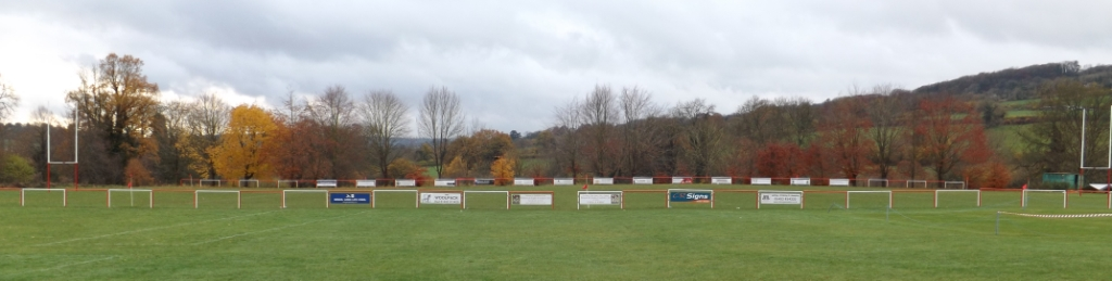 Broadham Fields (05-02) - The view from the patio of the Club House